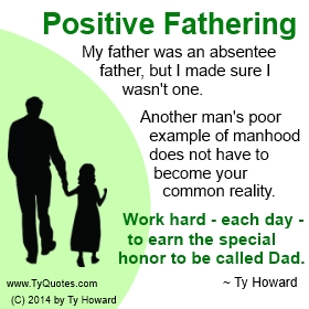 Ty Howard's Quote on Fatherhood, Quotes on Real Dad, Quotes on Fatherhood