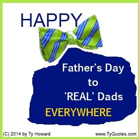 Ty Howard's Quote on Fatherhood, Quotes on Fatherhood