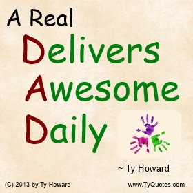 Ty Howard's Quote on Fatherhood, Quotes on Fatherhood, Quotes on Fathering