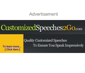 Custom Speech Writers - CustomizedSpeeches2go.com